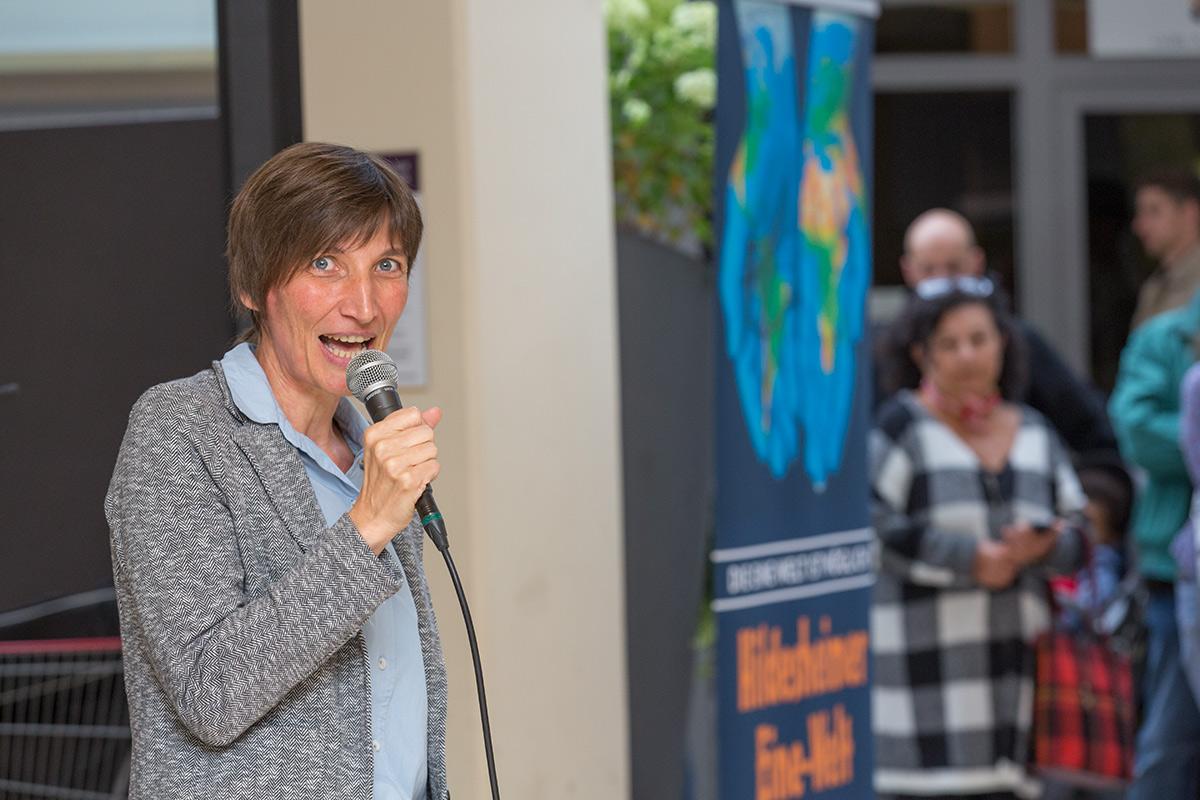 Eröffnung Eine-Welt-Woche 2019, Antje Edler von Verband Entwicklungspolitik Niedersachsen